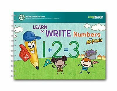 LeapFrog LeapReader Learn to Write Numbers with Mr Pencil Book (Englische Sprach