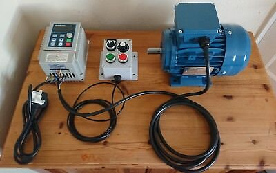 1hp Motor & VFD Inverter Package + Myford Boxford Lathe Pillar Drill or Milling