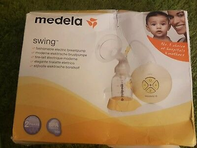 Medela Swing Electric Breast Pump with Calma Brand New Boxed