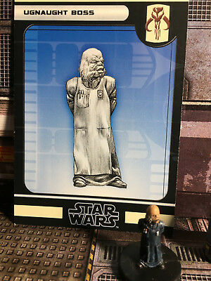 Star Wars Miniatures, Force Unleashed, #59 Ugnaught Boss, Wizards of the Coast