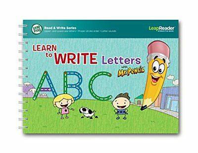 LeapFrog LeapReader Learn to Write Letters with Mr Pencil Book (Englische Sprach