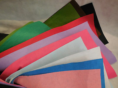 Soft acrylic wool felt fabric sheet 1mm thickness Per piece 28cm x 28cm