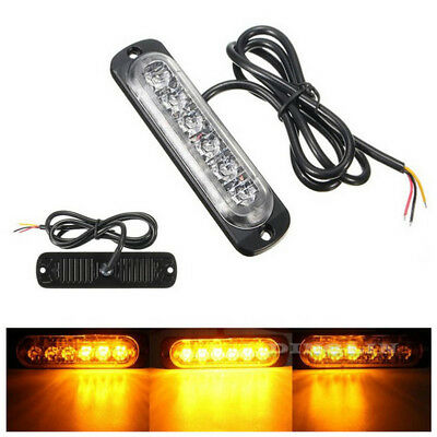 18W Spot 6LED Bright Light Work Bar 800LM Driving Fog Offroad SUV Car Boat Lamp