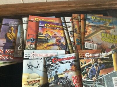 Commando Comics Job Lot X20