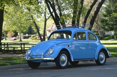 1963 Volkswagen Beetle - Classic Bug - Original CA Car - Restored - NO RESERVE!! 1952 type 1 convertible bus karmann ghia 21 window thing fastback porsche 356