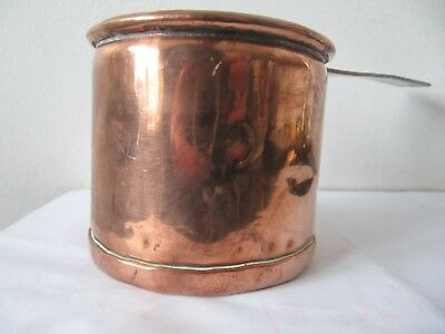 Small Antique Victorian Copper Sauce Pan