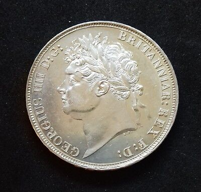 1821 George Iiii Crown. S.3805. Good Extremely Fine. Almost Unc.