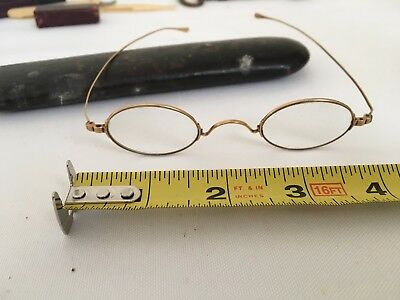 Antique Vintage 14K Gold Eyeglasses Spectacles Late 1800s early 1900s
