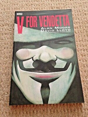 New V FOR VENDETTA GRAPHIC NOVEL New Paperback by Alan Moore (288 Pages)