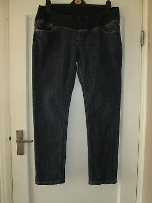 "Lovely Size 16 Next Maternity Jeans 30"" Leg See Pics!!"