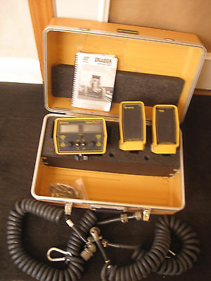 Topcon System Four Plus Control Panel 9160P & 2 Topcon/TDS Sonic Trackers II