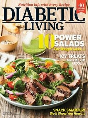 Diabetic Living Magazine Summer 2017 Issue Health Cooking