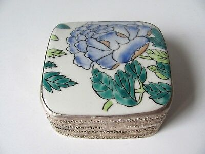 Antique Chinese Porcelain Shard Box