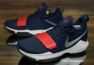 save off d02a5 94982 ... netherlands nike pg 1 paul george blue red 878627 900 basketball shoes  mens multi size 7cce5