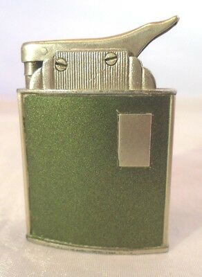 Vintage Art Deco Marathon Automatic Lighter with Green side NICE