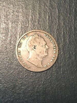 1837 Great Britain 6 Pence