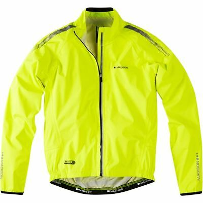 MADISON HI-VIZ YELLOW Shield Cycling Waterproof Jacket - EUR 39 cd85f6ef2