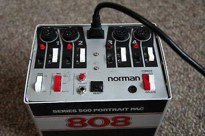 Norman 808 Portrait Power Supply / Pack with Power Cable