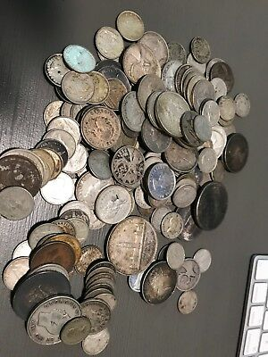 Canada Silver Lot $28 face of Silver dimes, quarters, halves and silver dollar