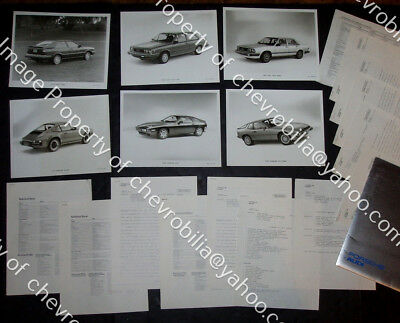 1982 PORSCHE 911SC 928 924 & Audi 4000 5000 PRESS KIT: 6 Photos, 13 Releases 911