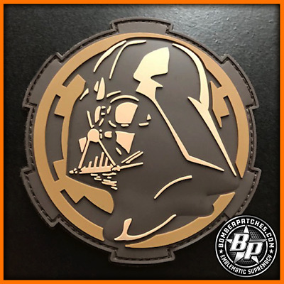 Darth Vader Inspired PVC Patch Desert Tactical Version worn by 69th Bomb Sq B-52