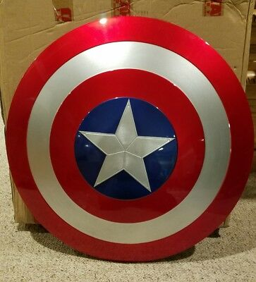 Cattoys 1:1 Captain America Shield Prop Replica ABS Avengers Infinity
