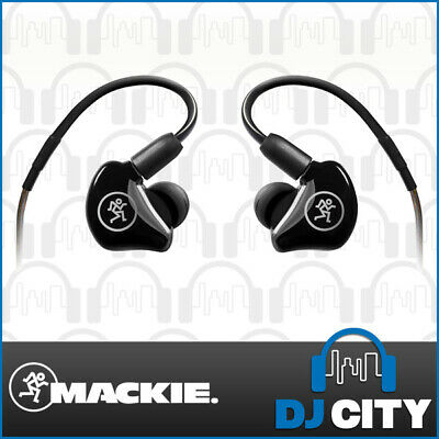 Mackie MP-220 In-Ear Monitors Single Driver Earphones Stage Sound Monitoring