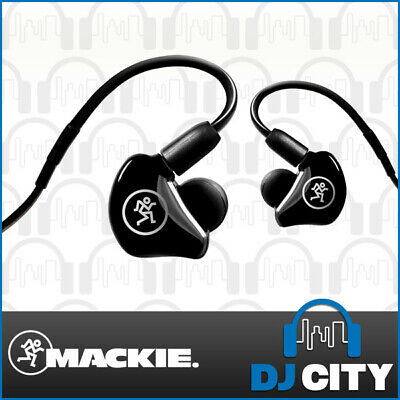Mackie MP-240 In-Ear Monitors Single Driver Earphones Stage Sound Monitoring