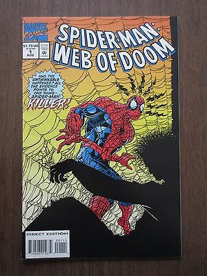 Spider-Man, Web of Doom, Comic Book, #1, August 1994