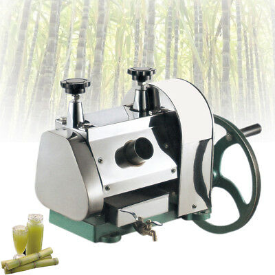 Manual Sugarcane Juicer Sugar Cane Extractor Squeezer Stanless Steel Machine HOT