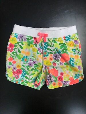 Girls Floral Shorts 4T