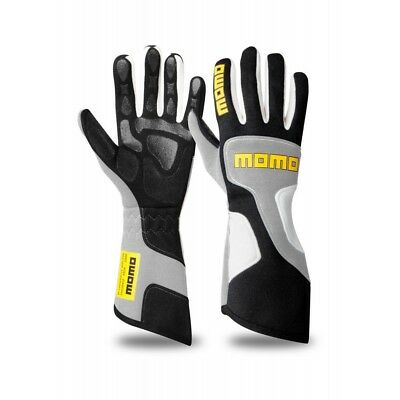New MOMO Xtreme Pro Gloves Grey Fire Resistant Nomex Silicone Coated Palm Insert