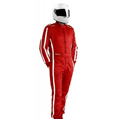 New Momo Suit Pro Racer Red Nomex Shiny Raso 3.2a/5 SFI Rating