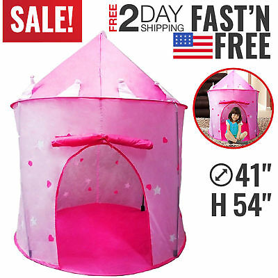 toys for girls play tent kids toddler 4 5 6 7 8 9 year old age girls cool toy picclick. Black Bedroom Furniture Sets. Home Design Ideas