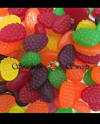 1kg Fruit Berries Colourful Mixed Gummies Lollies Candy Buffet Bulk Made in Aust