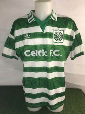Celtic Match Worn  Issued Home Shirt -Scotland Football Memorabilia Player Rare