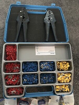 Newlec Crimping Tools And Terminal Kit, with extra crimps! Brand New!!!