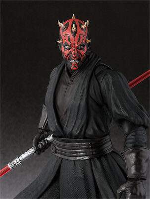 "6"" S.H.Figuarts SHF Star Wars Darth Maul  PVC Action Figure New In Box"