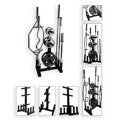"""BodyRip 2"""" Olympic Weight Disc Plate Barbell Rack Stand Tree Storage Holder Gym"""