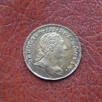 George III 1786 silver maundy twopence