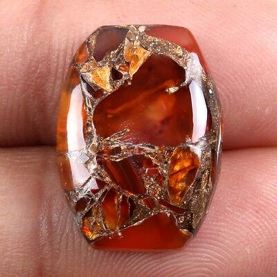 Super CARNELIAN COPPER MOHAVE 20x14 mm Cushion Cabochon Gemstone 11 Cts s-25820