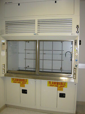 Chemical Fume Hood - 6 Foot With Base Cabinets - Fully Refurbished, Certificate