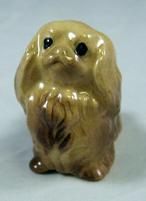 Hagen Renaker miniature made in America Pekinese Seated retired very hard to fin