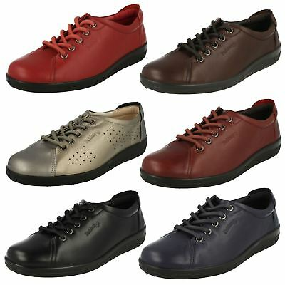 Ladies Padders Lace Up Everyday Shoes - Galaxy