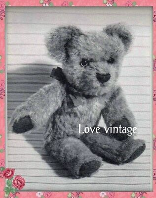VINTAGE 1940S TEDDY bear sewing pattern. + free pattern - £4.50 ...