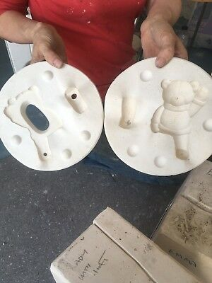 Teddy Bear [3] Clay Pottery Mould