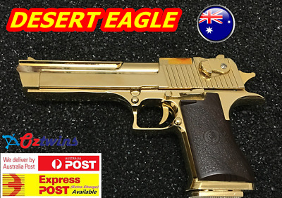 Desert Eagle Toy Pistol Costume Prop Assault Rifle With Working Slide & Target