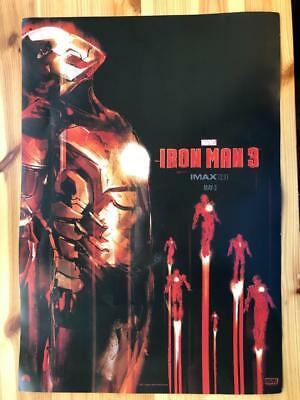 Marvel Iron Man 3- Imax 2.0 May 3rd 13in x 19 1/2inches