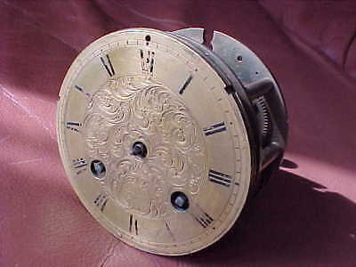 Antique French 1870 Rollin A Paris Striking Bracket Clock Movement