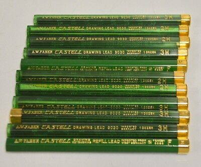 Vintage Venus Drawing Pencils Leads- 4 Boxes of 12 pcs-2H, 3H and 4H. #3800